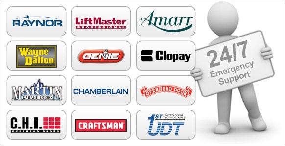 Overhead door brand logos